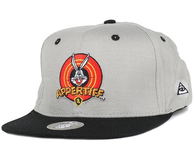 Bugs Bunny Grey Black Snapback - Appertiff caps - Hatstoreworld.com f816b8889e6
