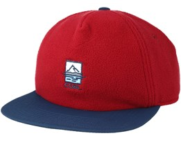 The North Red Strapback - Coal