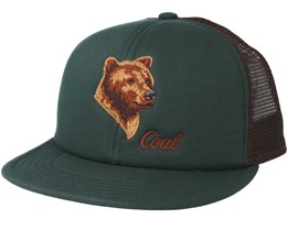 The Wilds Trucker Forsest Green Snapback - Coal