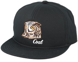 Wilderness Black Snapback - Coal