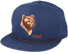 Wilderness Navy Snapback - Coal