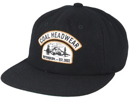 Hayes Black Snapback - Coal