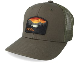 Hauler Low Olive Trucker - Coal