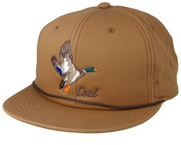 Wilderness Light Brown Snapback - Coal