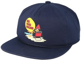 Field Navy Strapback - Coal