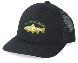 Tall Tales Black Trucker - Coal