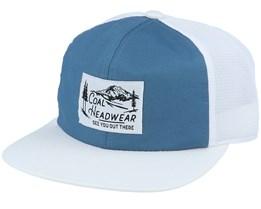 Highland Slate/White Trucker - Coal