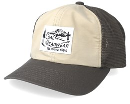 Highland Khaki Trucker - Coal