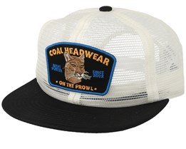 Everson White Trucker - Coal