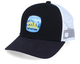 Tumalo Black/White Trucker - Coal