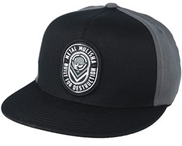 Destruct Black Fitted - Metal Mulisha