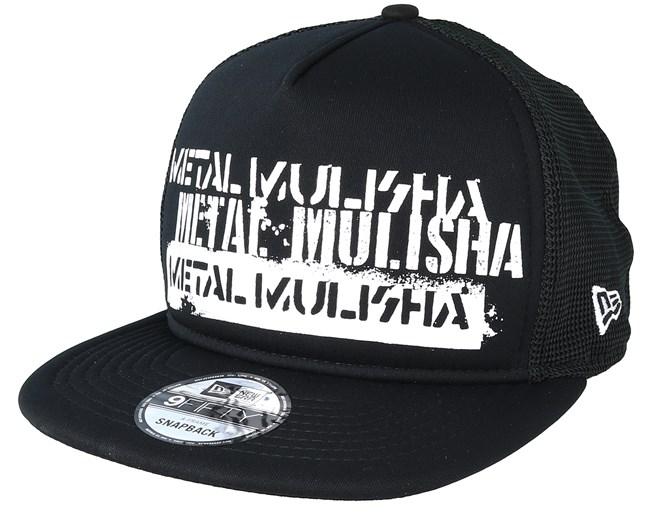 Crate Black Trucker - Metal Mulisha lippis - Hatstore.fi 7c071b34c4