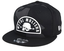 Dusk 9Fifty Camo/Black Snapback - Metal Mulisha