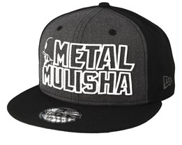 Cast 9Fifty Charcoal/Black Snapback - Metal Mulisha