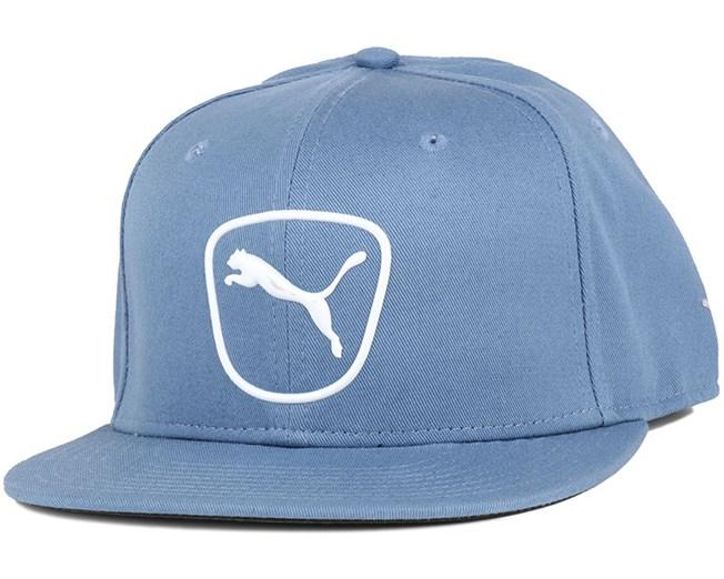 Cat Patch 2.0 Blue Snapback - Puma caps - Hatstoreaustralia.com a3bda1dd8e2e