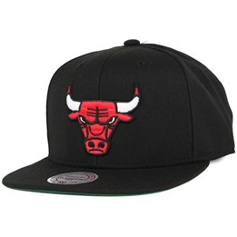 new styles 24868 b8a58 Mitchell   Ness Chicago Bulls Wool Solid Black Snapback - Mitchell   Ness   29.99. New Era ...