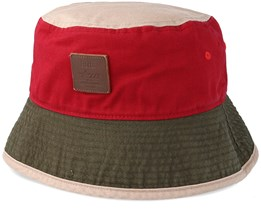Hike Hat Burgundy Red Bucket - Barts