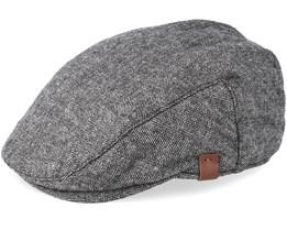 Dayton Grey Flat Cap - Barts