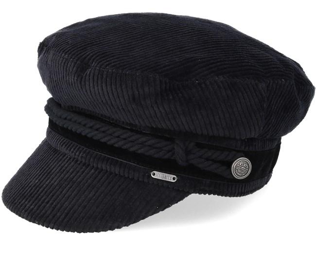 Odessa Black Flat Cap - Barts caps - Hatstoreaustralia.com b6eb4751a739
