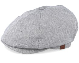 Jamaica Grey Flat Cap - Barts