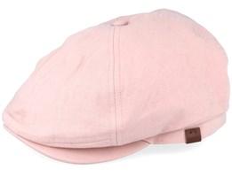Jamaica Dusty Pink Flat Cap - Barts