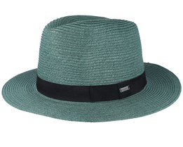 Aveloz Bottle Green Fedora - Barts