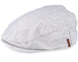 Chervil Light Grey Flat Cap - Barts