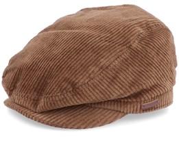 Oslo Coffee Brown Flat Cap - Barts