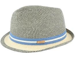 Fluoriet Hat Navy/Khaki Trilby - Barts