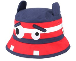 Kids Hippo Old Blue/Red Bucket - Barts