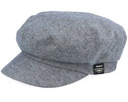 Dieze Cap Black Flat Cap - Barts