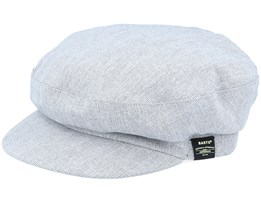 Dieze Cap Grey Flat Cap - Barts