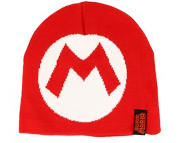 Nintendo Mario Red Knitted Beanie - Bioworld