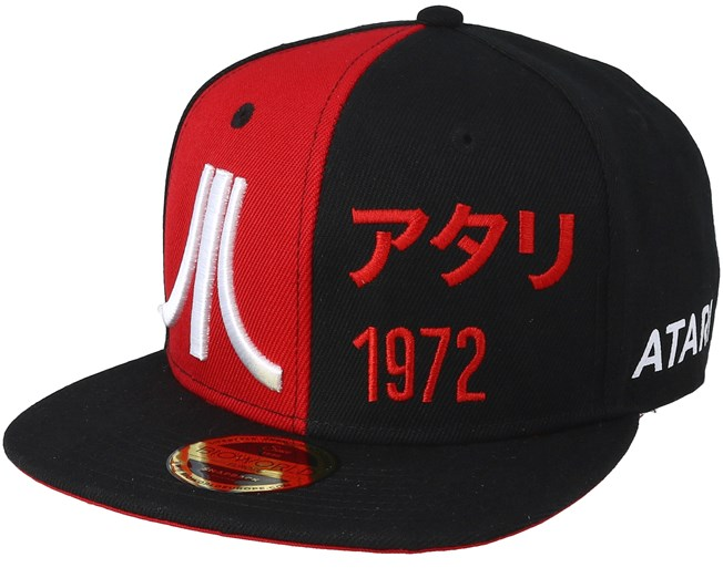 Atari Bicolor Japanese Black Red Snapback - Bioworld - Start Gorra -  Hatstore 8818cde4ac6