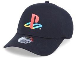 Playstation Original Logo Seamless Black Flexfit - Difuzed