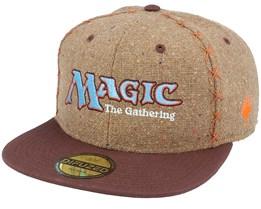 Magic The Gathering Core Brown Snapback - Difuzed