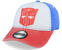 Hasbro Transformers Autobots White/Blue/Red Adjustable - Difuzed
