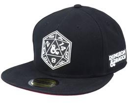 Hasbro Dungeons & Dragons Black Snapback - Difuzed
