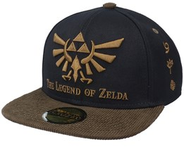 Zelda Badge Black Snapback - Difuzed