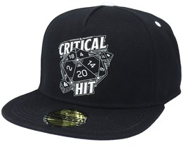Dungeons & Dragons Critical Hit Black Snapback - Difuzed