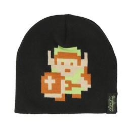 4f7f4264f30 Bioworld Nintendo Zelda 8-Bit Link Pixel Black Beanie - Bioworld £17.99