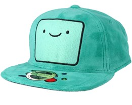 Adventure Time Beemo Plush Teal Snapback - Bioworld