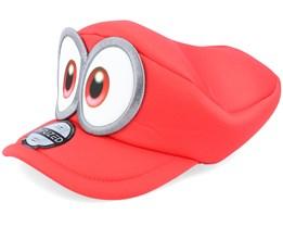 Nintendo Super Mario Odyssey Red Flexfit - Difuzed