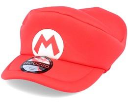 Kids Nintendo Super Mario Hat Red Flexfit - Difuzed
