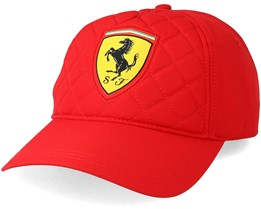 Quilt Red Adjustable - Ferrari