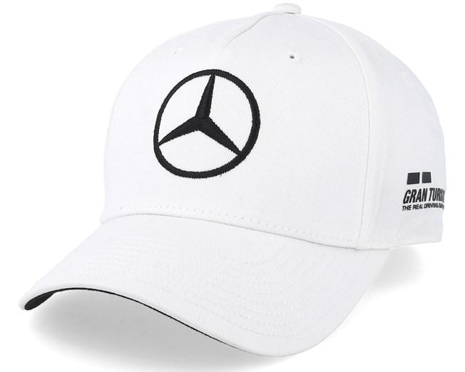 077e6af8a9d Lewis Hamilton Drivers Cap White Adjustable - Mercedes caps -  Hatstoreaustralia.com