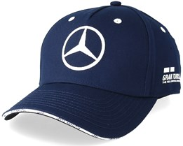 Lewis Hamilton Silverstone Cap Navy Adjustable - Mercedes