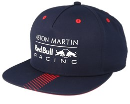 Red Bull Racing Logo Navy/Red Snapback - Formula One