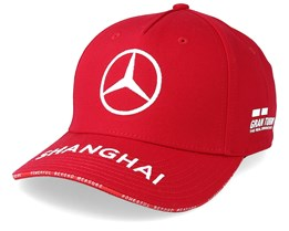 Mercedes AMG Petronas Shanghai Red Adjustable - Formula One