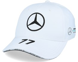 Mercedes Rp Bottas Driver Baseball Cap 2 White Adjustable - Formula One